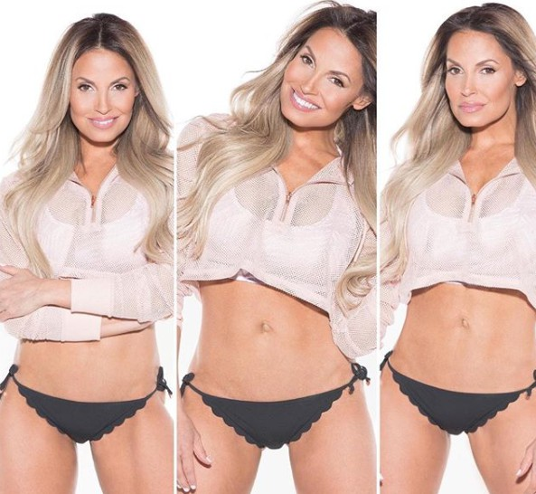 Ron Fisico's wife Trish Stratus