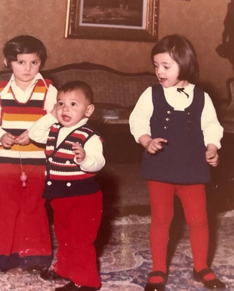 Preetha's husband Maz childhood picture with his siblings