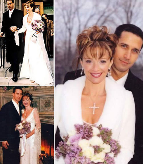 Francis Greco wedding picture collection with his ex-wife Lauren