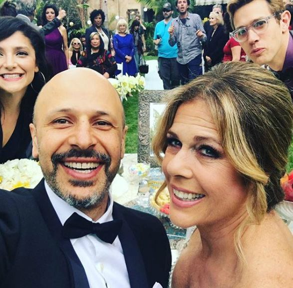 Preetha husband Maz shares on-screen wedding vows with Rita Wilson on 11 May 2017