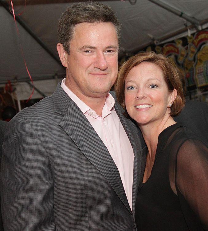 Susan Waren with her ex-husband Joe Scarborough