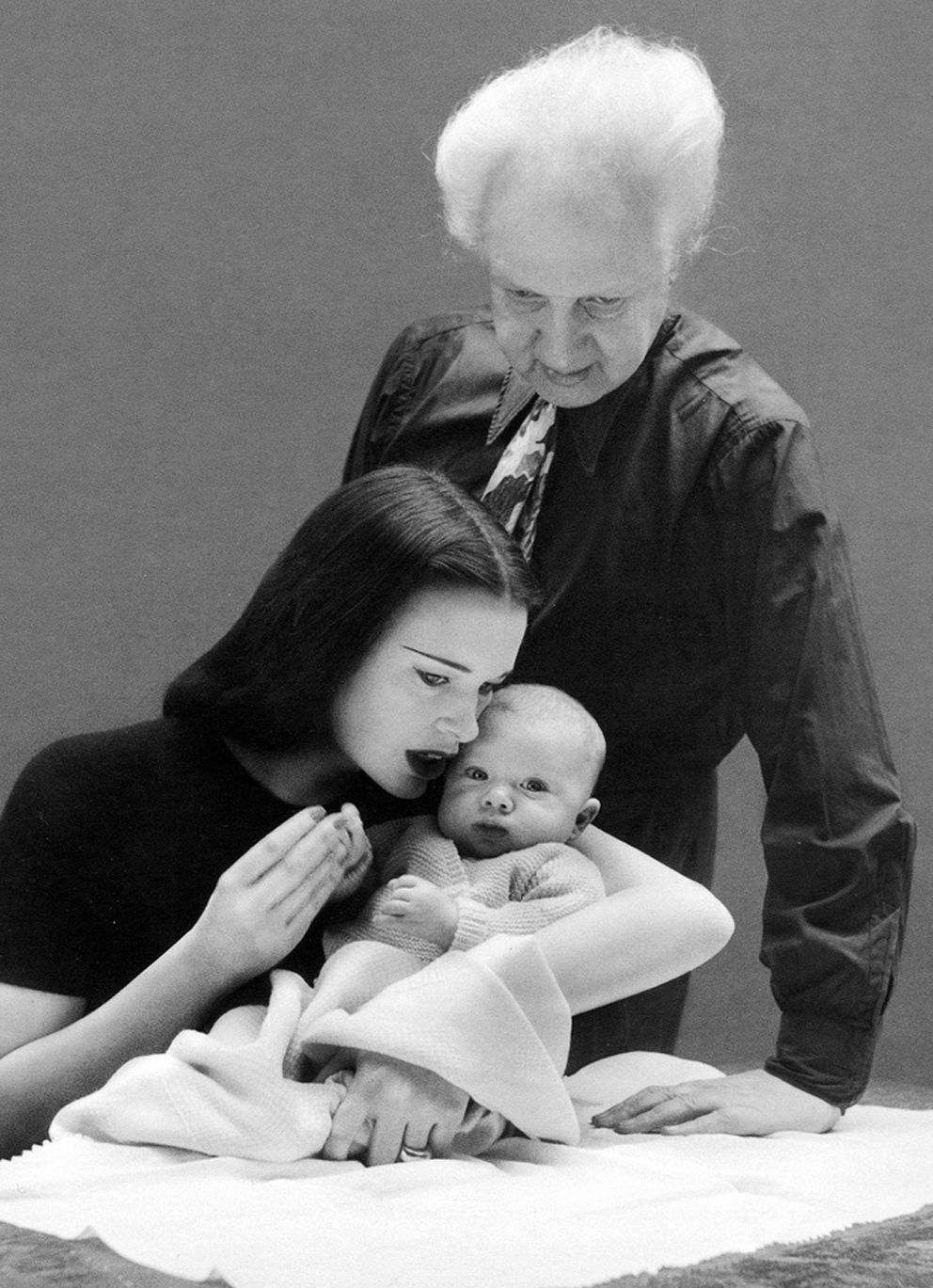 Leopold Stanislaus Stokowski childhood picture with his parents