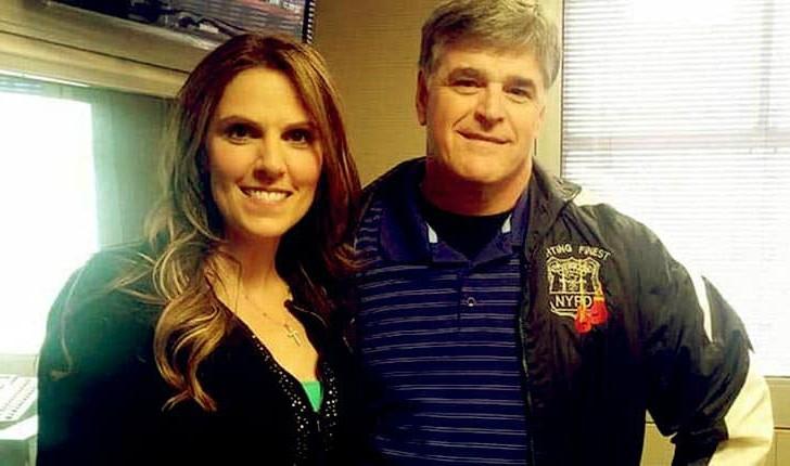 Jill Rhodes with her husband Sean