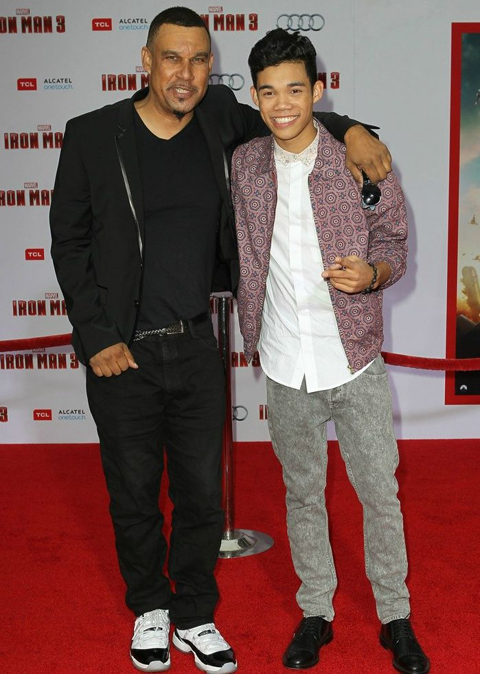 Cion Fegan's husband Ray with his son Roshon