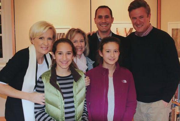 Susan's ex-husband Joe with his family