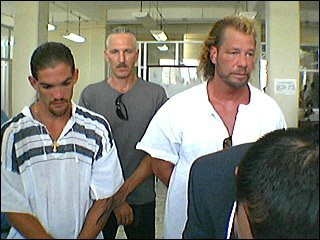 Maui's ex-husband Leland along with brother & father