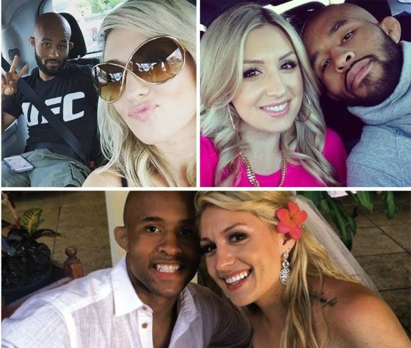 Destiny Bartels photo collection with her husband Demetrious