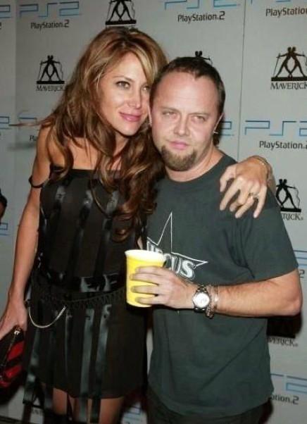 Skylar Satenstein with her ex-husband Ulrich in the award show
