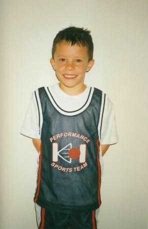 Luke Kuechly's childhood picture