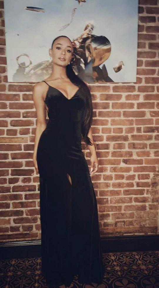 Kyla Wayans posing for a photo
