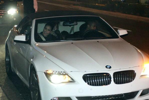 Kyla Wayans' parents sitting inside car