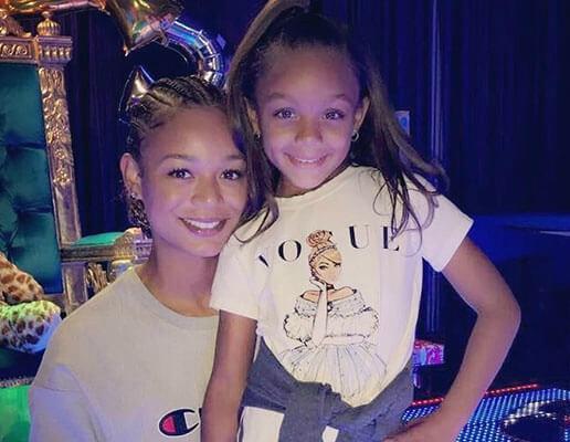 Kyla Wayans with her daughter Emmie