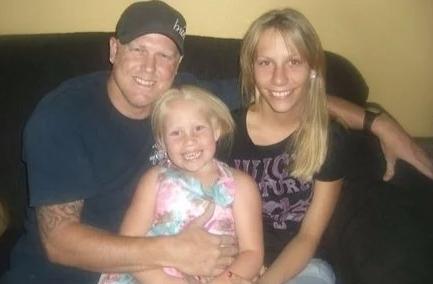 Lyssa Rae Brittain's daughter with her ex-boyfriend and their daughter