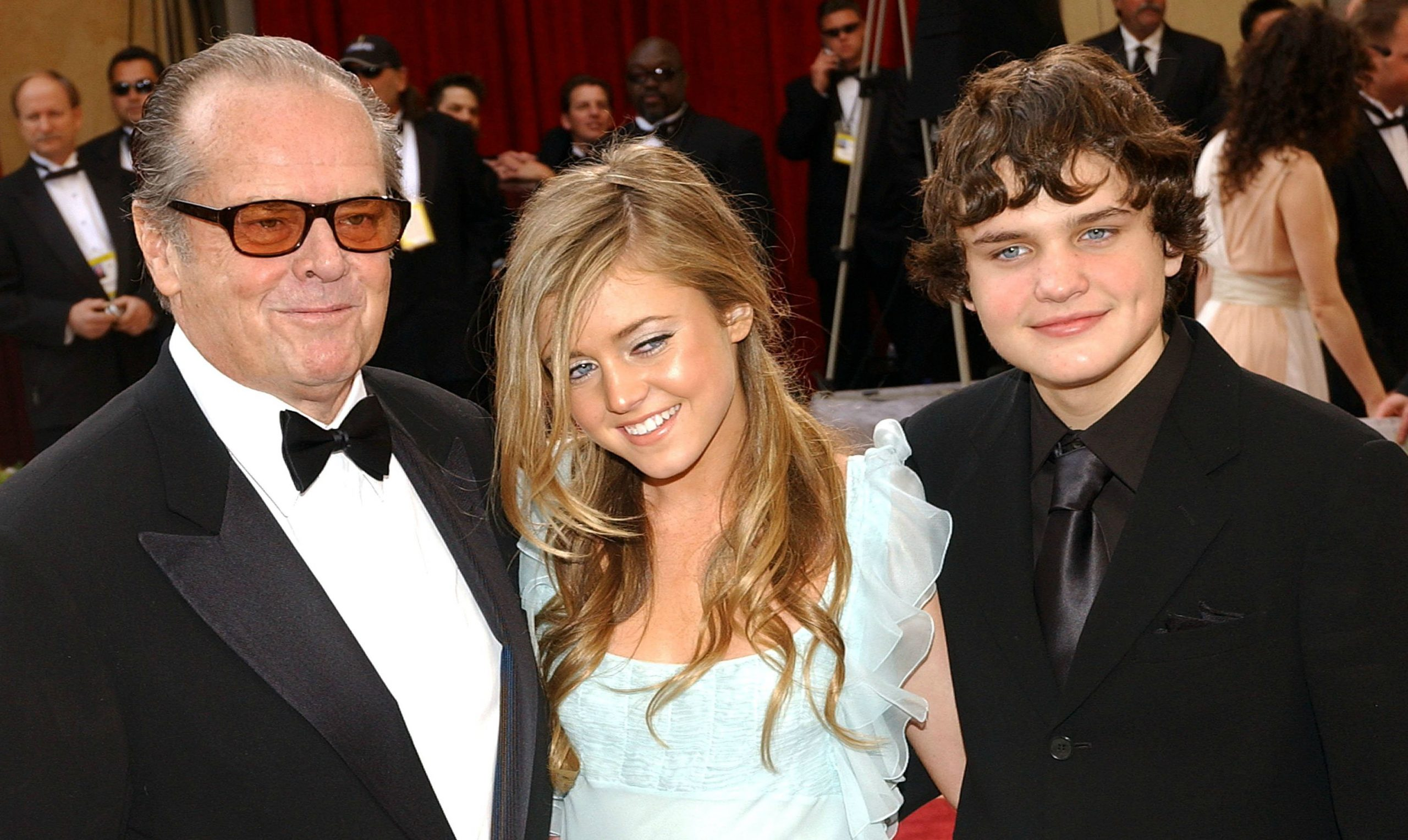 Honey Hollman's siblings with her father Jack