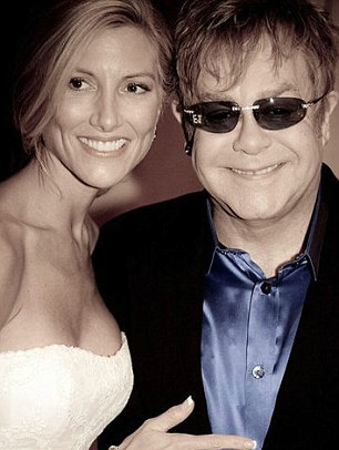 Kathryn Adams Limbaugh with Elton John