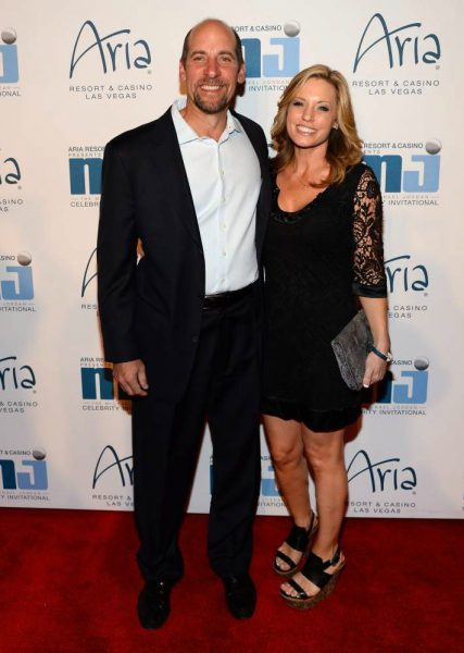 John Smoltz with his wife Kathryn