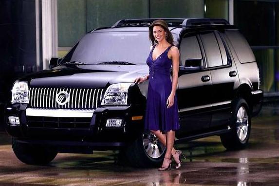 David Lemanowicz's wife Jill in the promotion of car