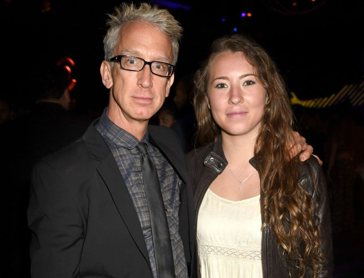 Lena Sved with her husband Andy Dick