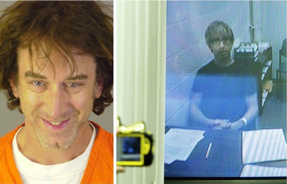 Lena Sved's husband Andy picture while he was in jail