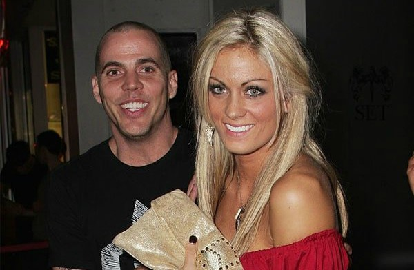 Candy Jane Tucker's ex-husband Steve-O with his 2nd wife Brittany Mcgraw
