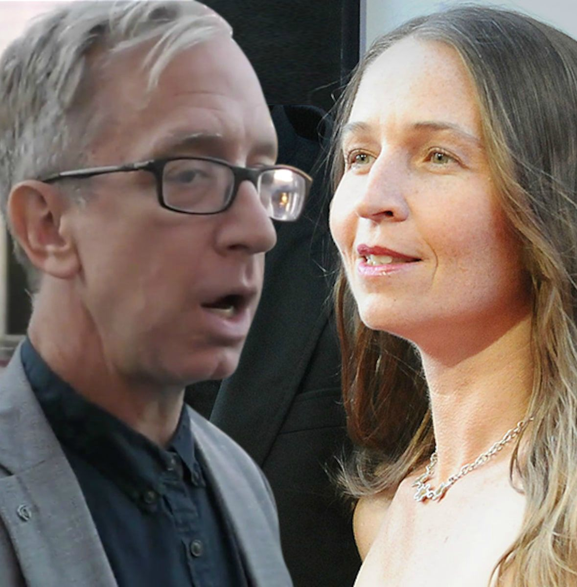 Lena Sved and her husband Andy picture attached together