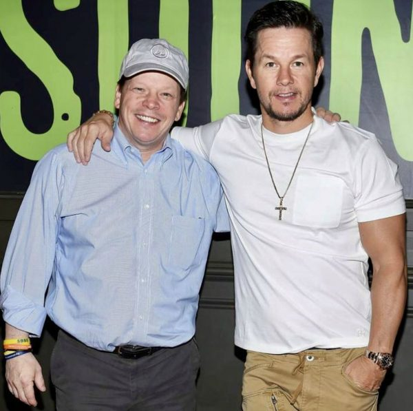 Paul Wahlberg with his popular celebrity brother Mark