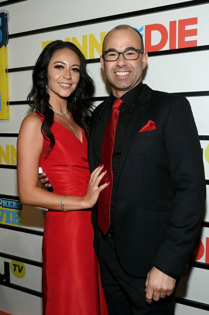 Melyssa Davies with her boyfriend James
