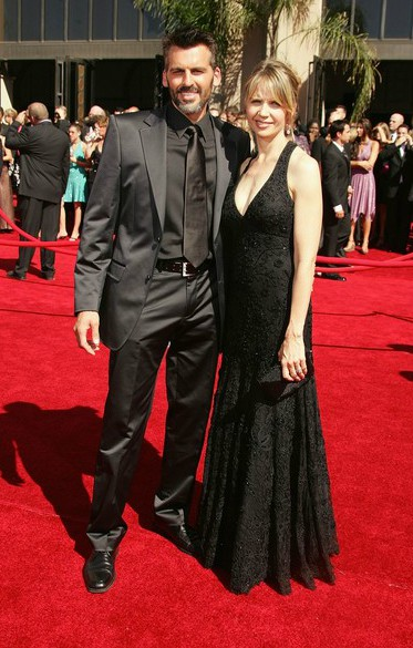Rhonda Tollefson with her husband Oded in an award show
