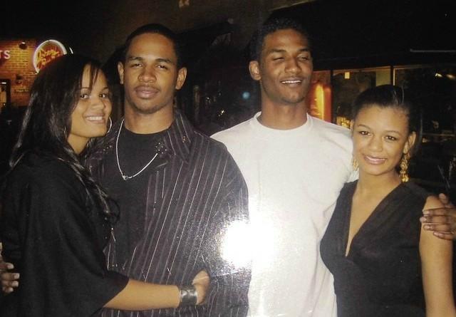 Kyla Wayans with her siblings