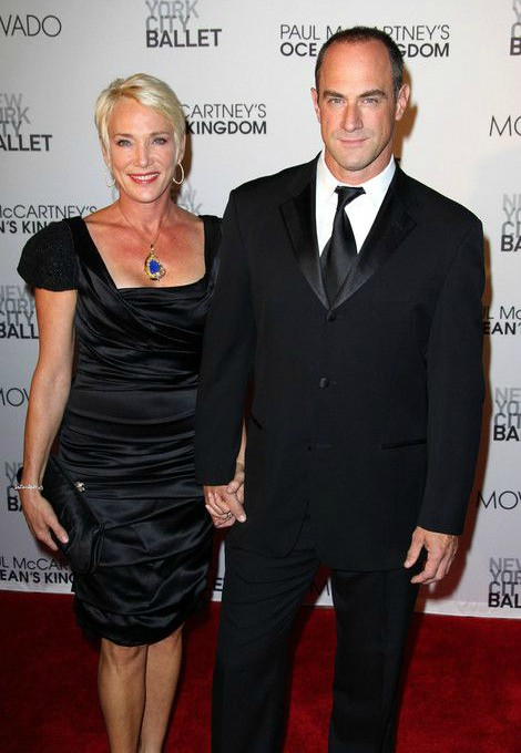 Sherman Williams with her husband Meloni