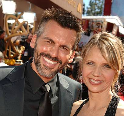 Oded Fehr and wife Rhonda Tollefson during 58th Annual Primetime Emmy Awards - Red Carpet at The Shrine Auditorium