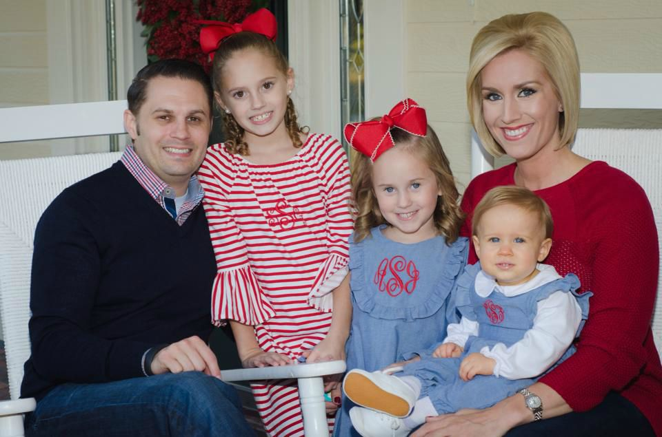 Jill Swaggart with her husband Gabriel and their three daughters