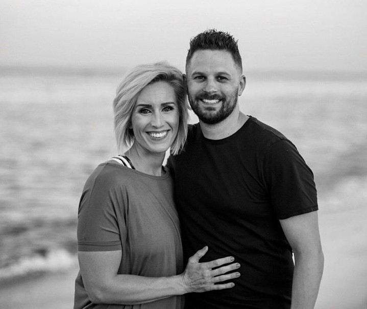 Jill Swaggart clicking picture with her husband Gabriel