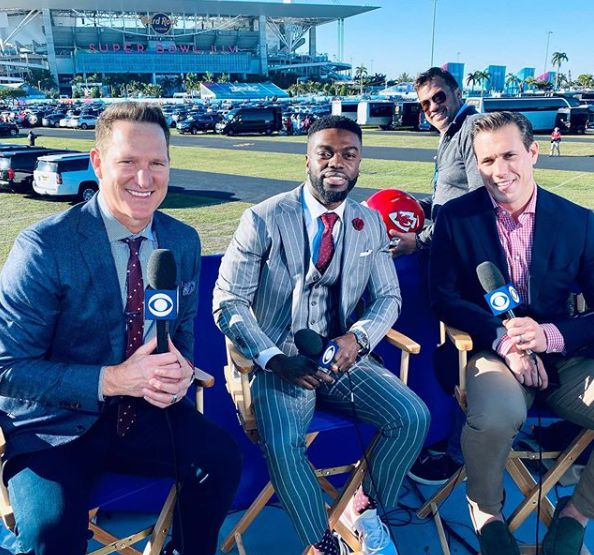 Danny Kanell working with his co-host
