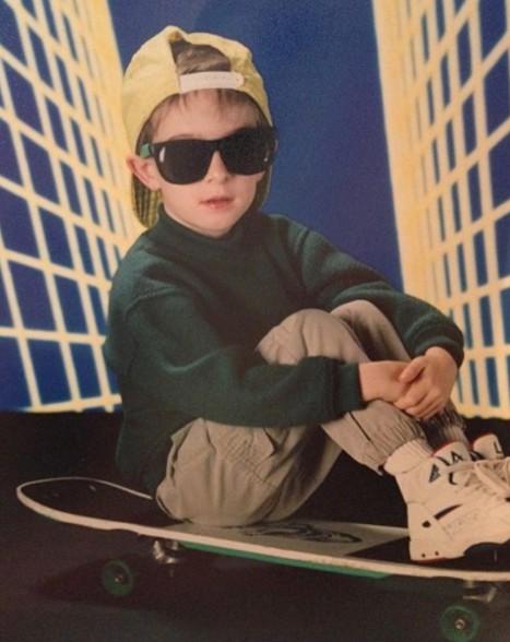 Chris Pfaff childhood picture