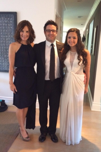 Andy Lassner with his wife Lorie and their daughter Erin