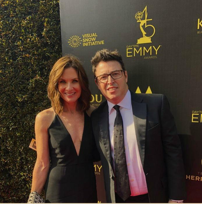 Andy Lassner with his wife Lorie