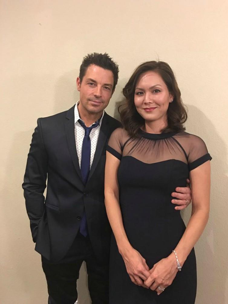 Brennan Elliott with his wife Cami