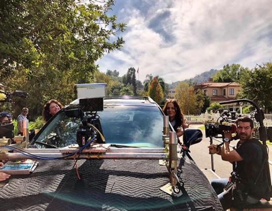 Alexandra Park shooting for a film