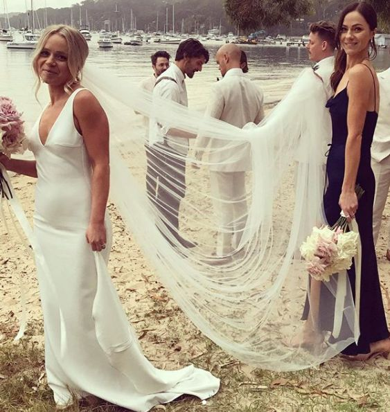 Alexandra Park in her friends wedding