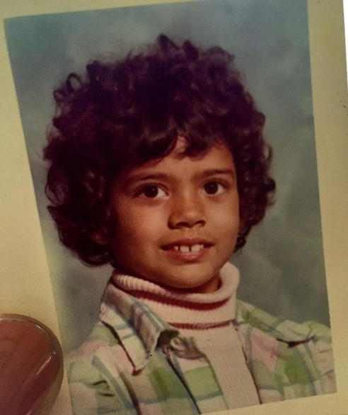 Dina Eastwood childhood picture