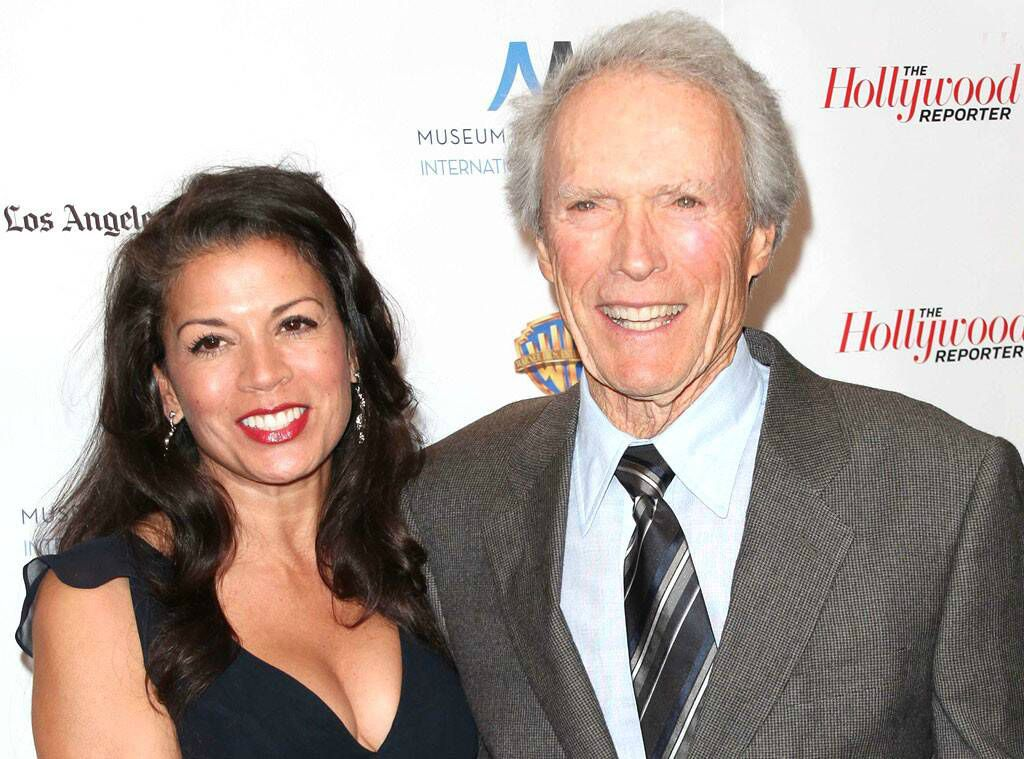 Dina Eastwood with her ex-husband Clint Eastwood