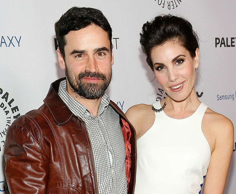 Actor Jesse Bradford (L) and actress Carly Pope attend the Inaugural PaleyFest Icon Award honoring Ryan Murphy at The Paley Center for Media on February 27, 2013 in Beverly Hills, California.