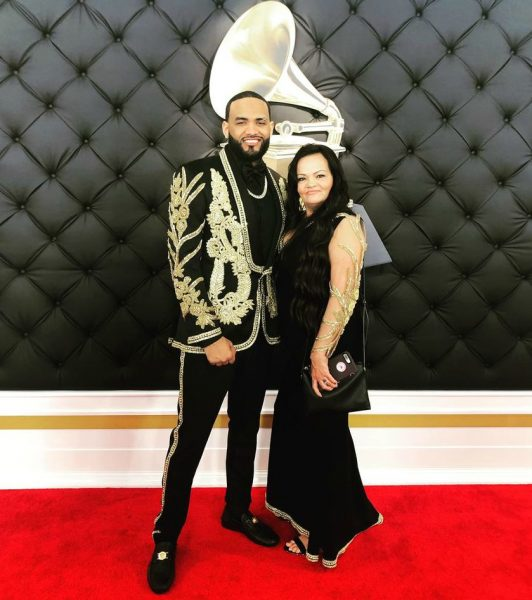 Joyner Lucas with his mother