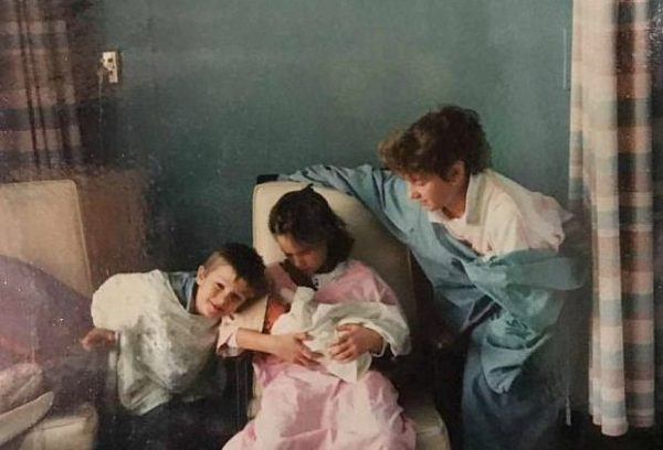 Michael Mantenuto's family picture