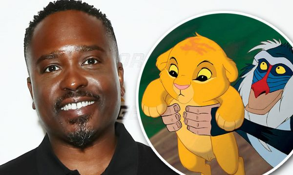 Jason Weaver working in the Lion King
