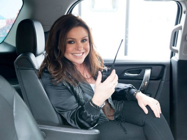 John M. Cusimano's wife Rachel sitting inside car