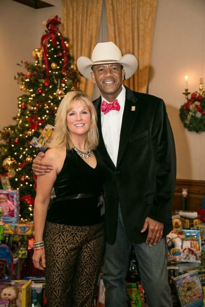 David Clarke with his ex-wife