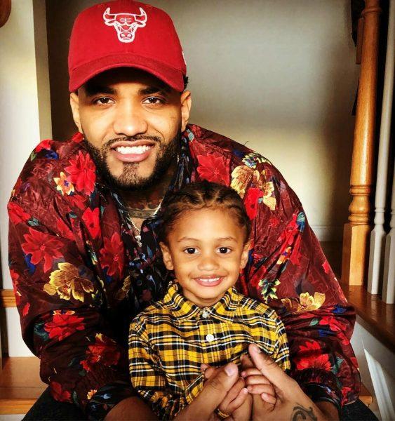 Joyner Lucas with his son