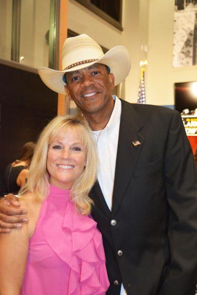 David Clarke with his ex-wife Julie Clarke